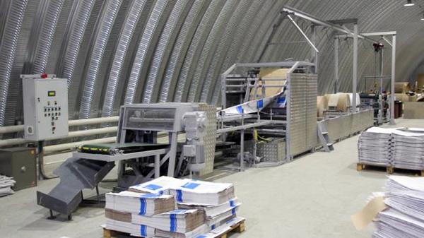 Як виглядає мале виробництво паперових крафт-пакетів