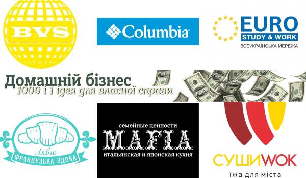 Українські франшизи контролюють 66% ринку. Решта 34% контролюють іноземні - переважно компанії із Західної та Східної Європи, Китаю, Росії та США